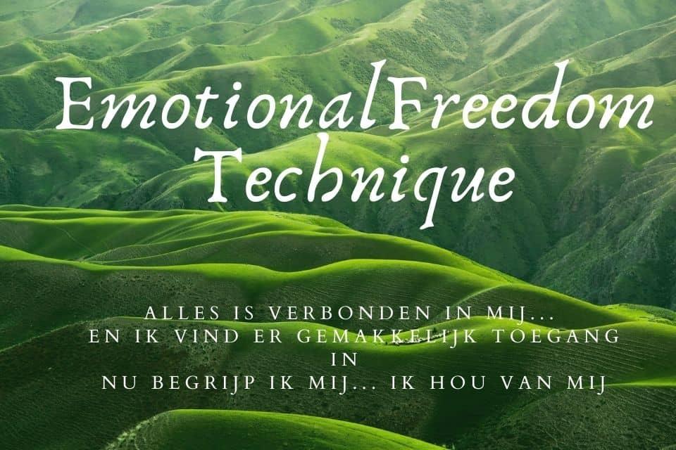 Wat is EFT? Hoe werkt emotionele bevrijding?