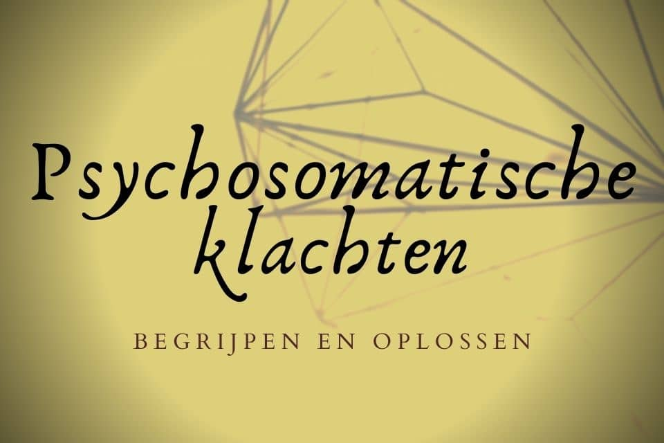 Psychosomatische klachten oplossen met Hypnotherapie